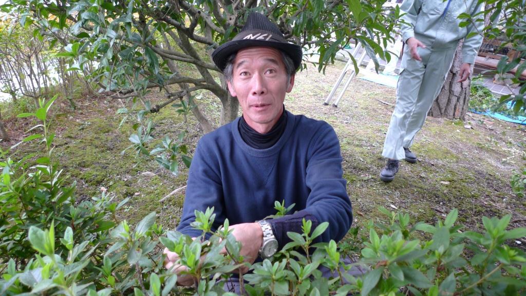 Delightful Japanese Gardener #6: With Gardener; The Spatial Continuity